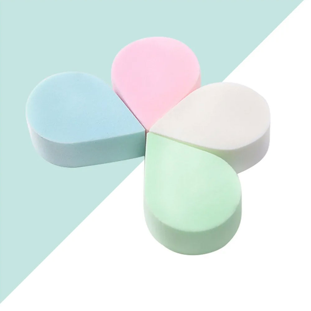 Makeup Sponge In The Form Of Drops 4 Pieces colorful متجر 15 وأقل
