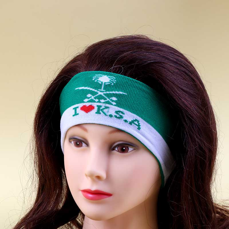Ties For Head And Hand Cloth To Celebrate Saudi National Day - Green متجر 15 وأقل