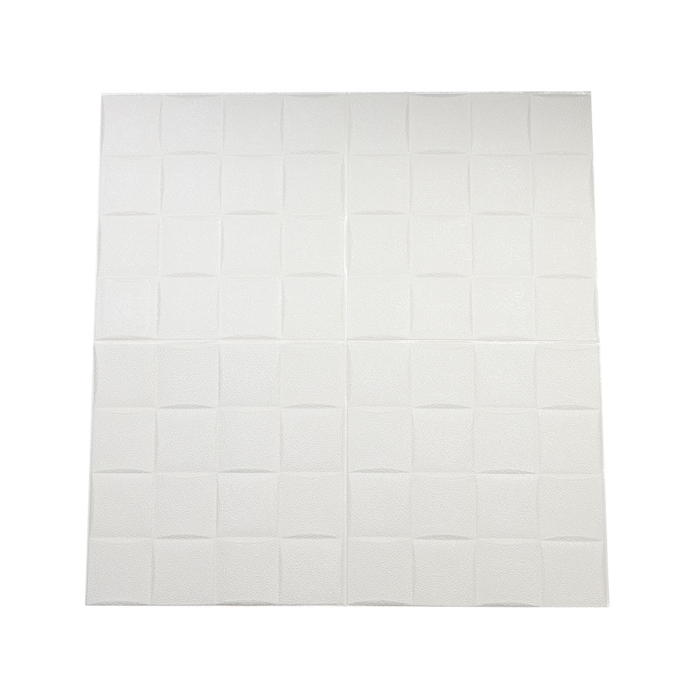 Three Dimensional Wall Stickers With Square Design With White Spot Color One Piece متجر 15 وأقل