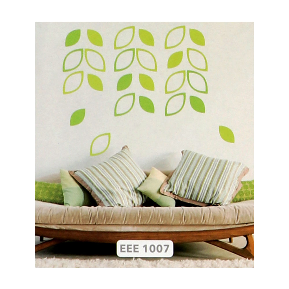 Smart Walls Stickers With Green Tree Leaves Design متجر 15 وأقل