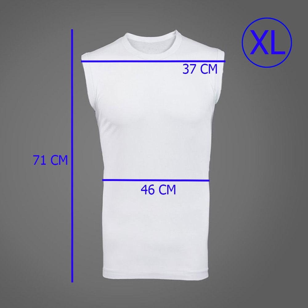 ( XL) فنايل داخلية قطنية بيضاء كات للكبار مقاس كبير جدا متجر 15 وأقل