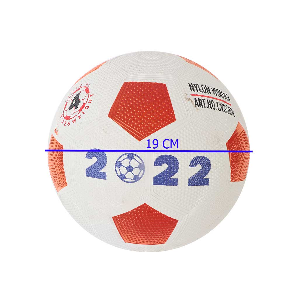 Inflatable Red Football To Practice Sport متجر 15 وأقل
