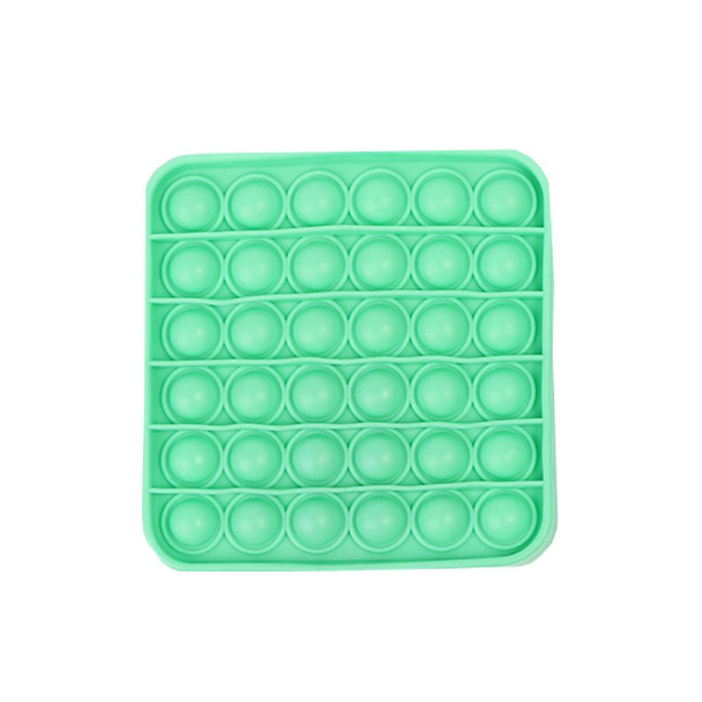 لعبة جو بوب الحسية للإسترخاء و لتخفيف التوتر من السيليكون مربع لون أخضر فاتح متجر 15 وأقل