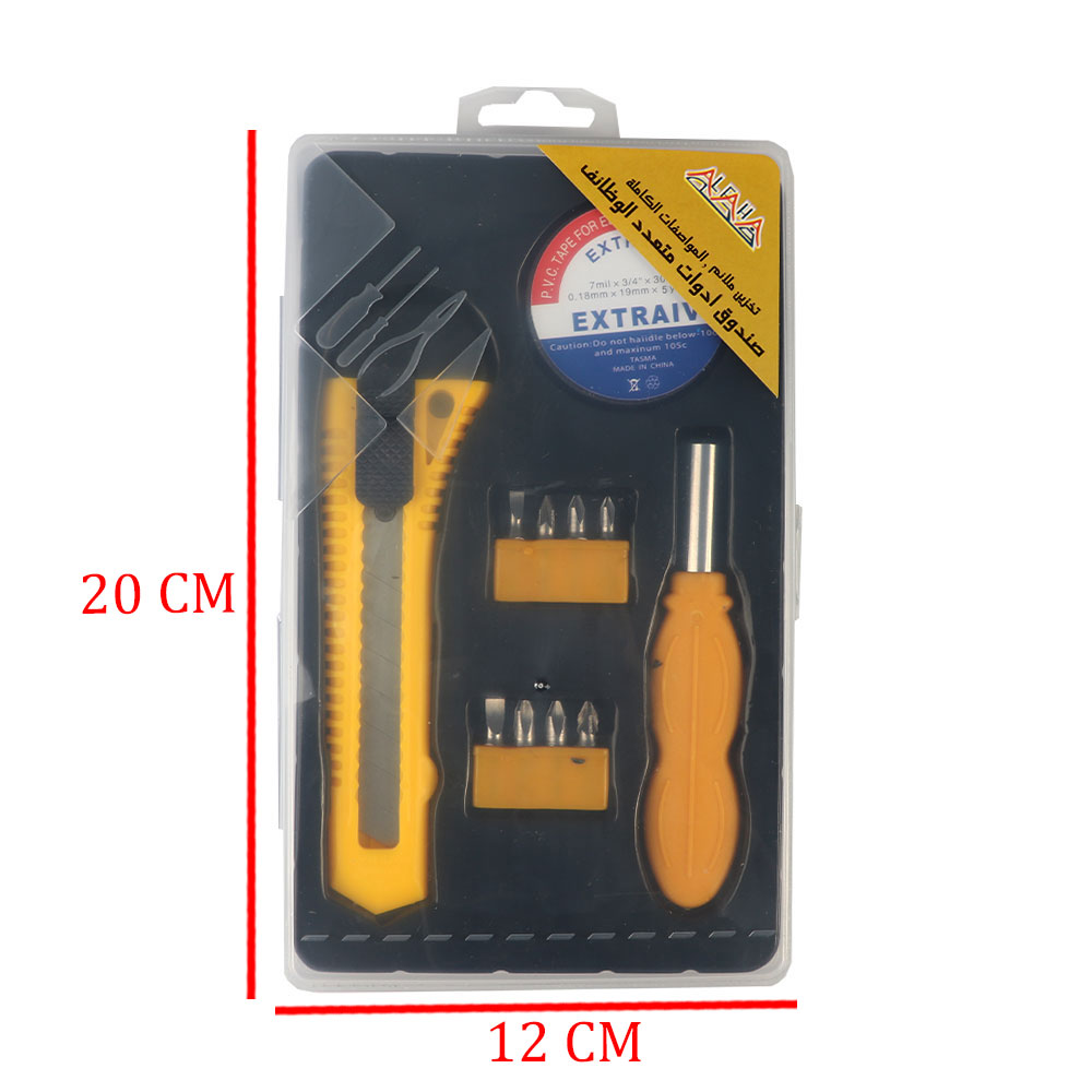 Multi Functional Maintenance Crew Consisting Of Scalpel Sticky Screwdriver Heads With Different Shapes متجر 15 وأقل