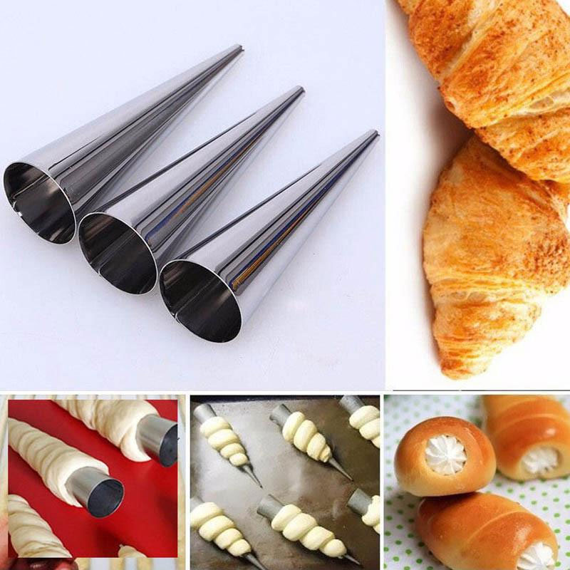 Stainless Steel Cone Pastry Set With Conical Design For 6 12×3 cm متجر 15 وأقل