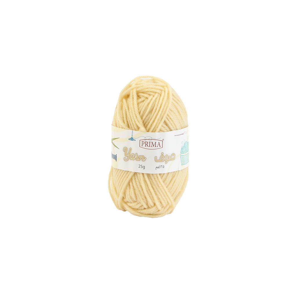 Beige Wool Sewing Thread 1 Piece 25 Grams متجر 15 وأقل