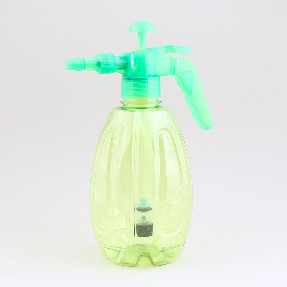 بخاخ مياه بلاستيكي يعمل بالضغط متعدد الوظائف مناسب للاستخدام المنزلي سعة 1.5 لتر - أخضر متجر 15 وأقل