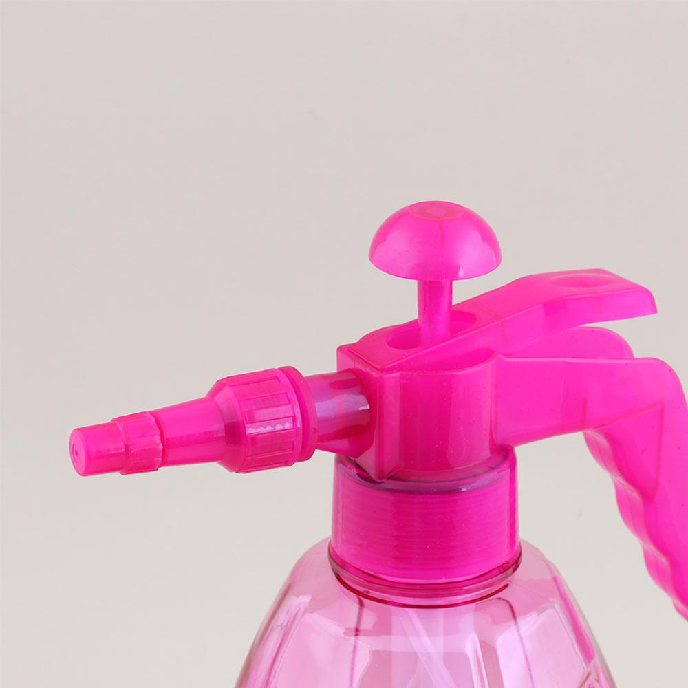بخاخ مياه بلاستيكي يعمل بالضغط متعدد الوظائف مناسب للاستخدام المنزلي سعة 1.5 لتر - وردي متجر 15 وأقل
