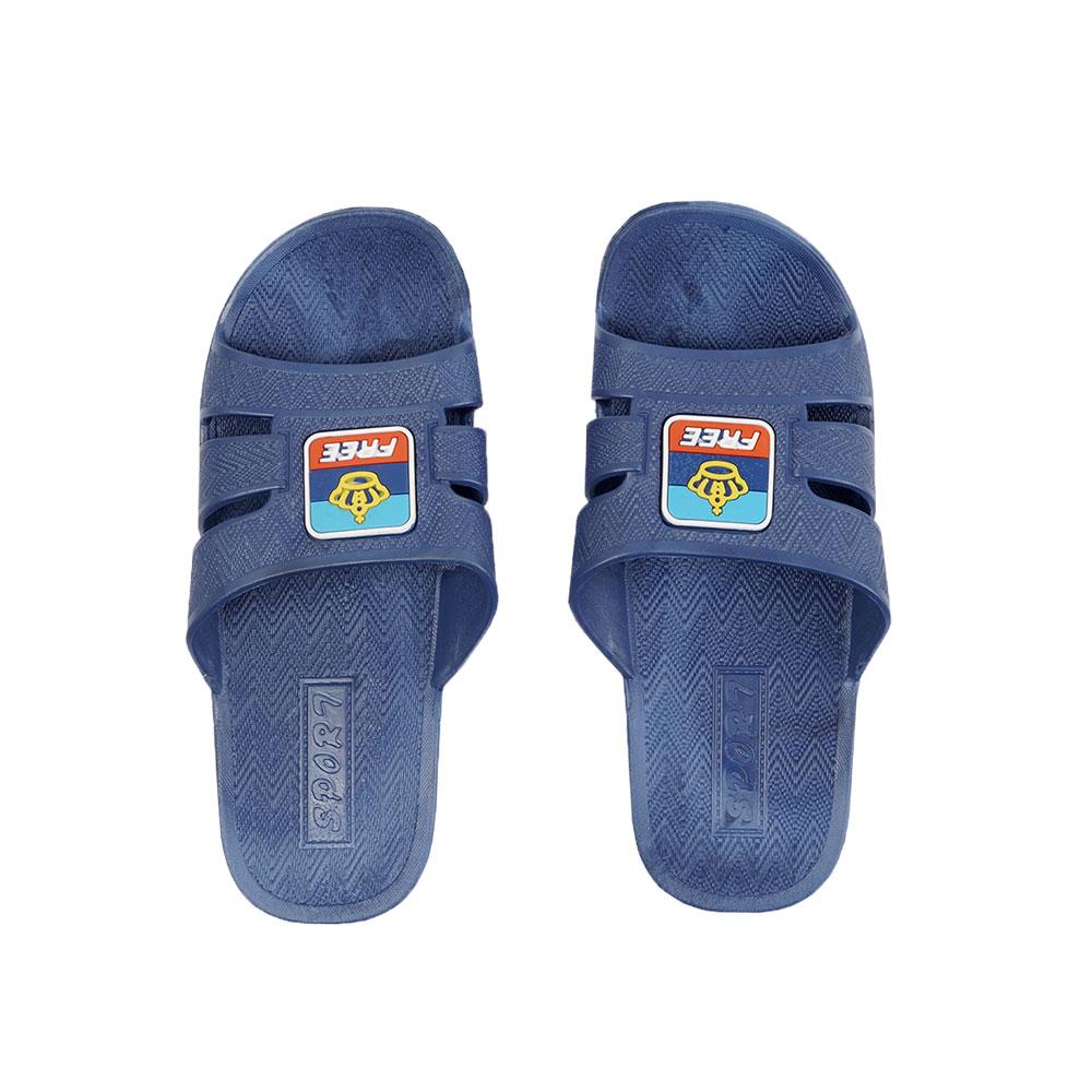 حذاء - شبشب حمام مطاطي خفيف مقاس 42 لون أزرق متجر 15 وأقل