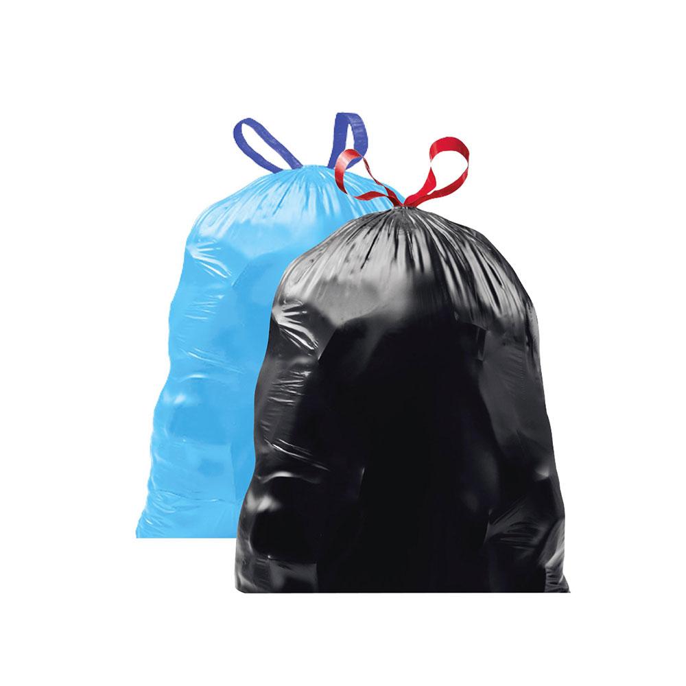Trash bags 50 gallon Blue bags متجر 15 وأقل
