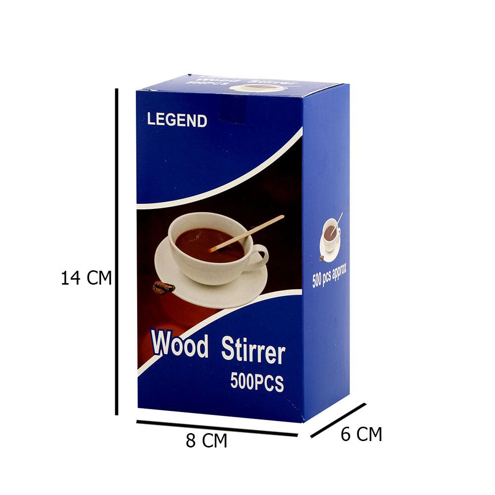 اعواد تقليب خشبية للقهوة او الشاي 500 حبة 14سم بيج متجر 15 وأقل