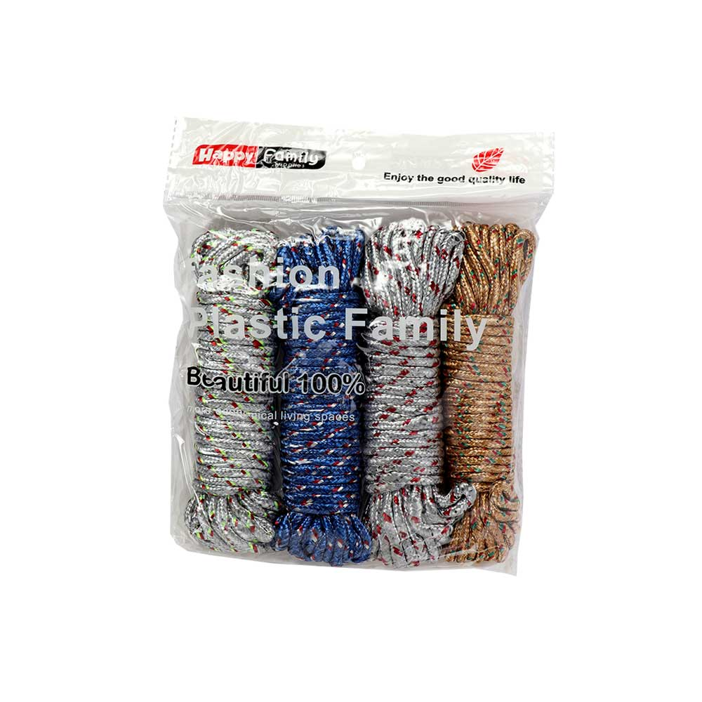 Set Of Clothing Suspension Rope 9.60 Meter 4 Pcs In Multiple Colors متجر 15 وأقل
